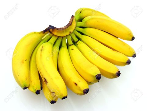 8738987-Bunch-of-bananas-isolated-on-white-background-Stock-Photo